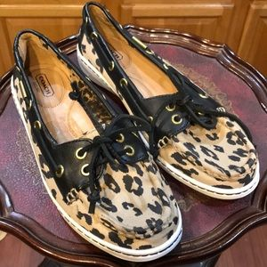 Authentic Coach  canvas topsiders, loafers, flats